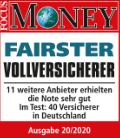 Siegel Focus Money Fairster Vollversicherer