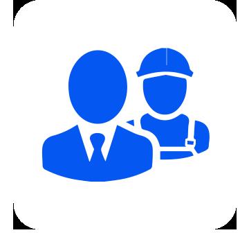 Rechtsschutzversicherung: Arbeitnehmer (Icon)