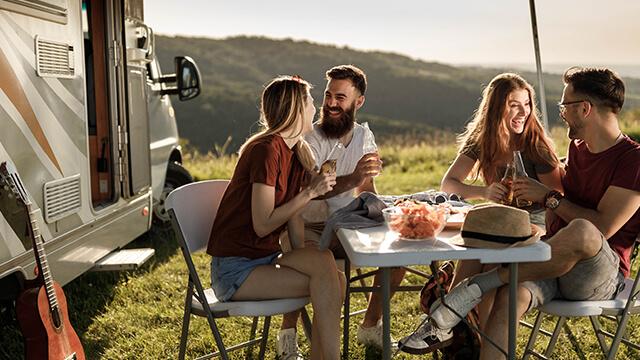 Was ist eine Camper-und Wohnwagenversicherung?